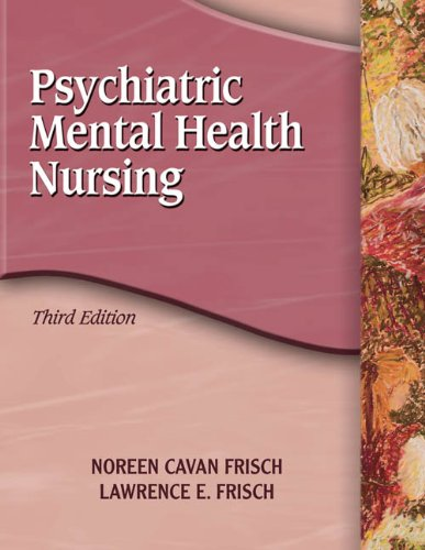 9781401856441: Psychiatric Mental Health Nursing (Frisch, Psychiatric Mental Health Nursing)