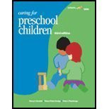 9781401856984: Caring For Preschool Children