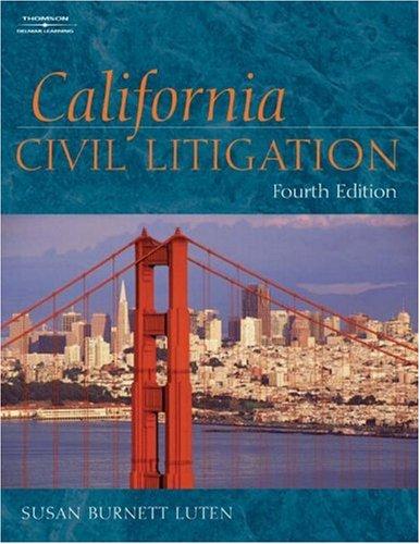 9781401858247: California Civil Litigation