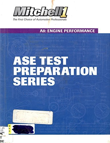 9781401858629: ASE Test Preparartion Series ~ A8: Engine Performance (Mitchell 1)