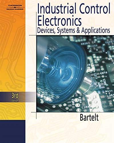 Industrial Control Electronics: Bartelt, Terry L.M.