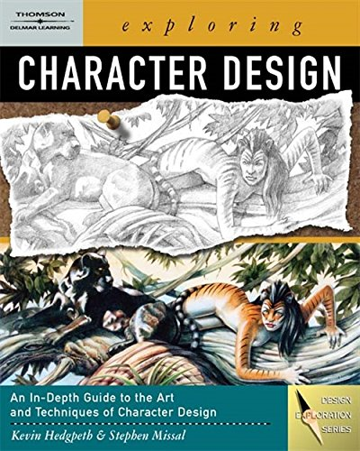 9781401862961: Exploring Character Design: An In-depth Guide to the Art and Techniques of Character Design (Design Exploration)