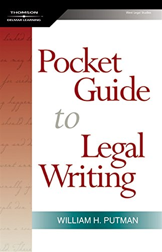 9781401865979: The Pocket Guide to Legal Writing, Spiral bound Version