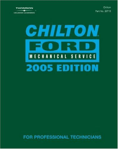 9781401867195: Chilton 2005 Ford Mechanical Service Manual: (2001-2005)