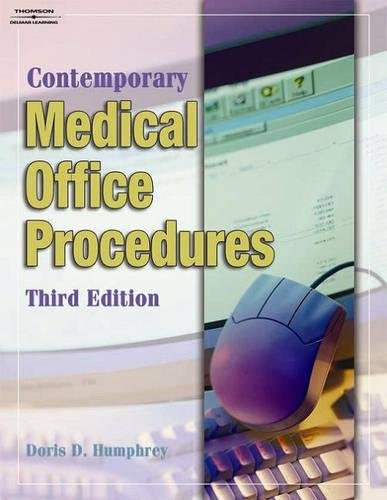 9781401870683: Student Workbook for Humphrey's Contemporary Medical Office Procedures, 3rd
