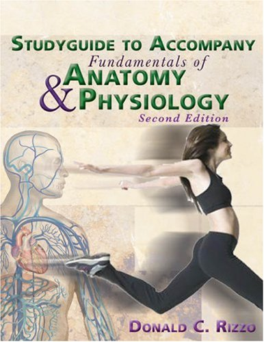 9781401871895: Study Guide for Rizzo's Fundamentals of Anatomy and Physiology, 2nd