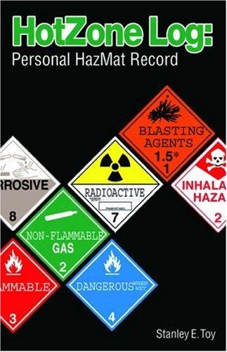 9781401872298: Hot Zone Log: Personal HazMat Record