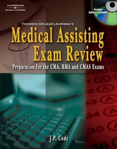 9781401872304: Delmar's Medical Assisting Exam Review: Preparation for the CMA, RMA, and CMAS Exams (Medical Assisting Exam Review: Preparation for the CMA, Rma, & Cmas)