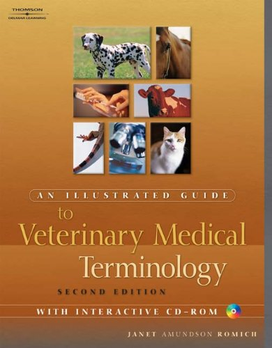 9781401873813: An Illustrated Guide to Veterinary Medical Terminology, Second edition