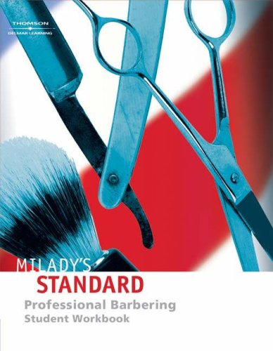 Student Workbook for Milady's Standard Professional Barbering: Scali-Sheahan, Maura T.