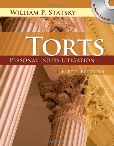 9781401879624: Torts: Personal Injury Litigation
