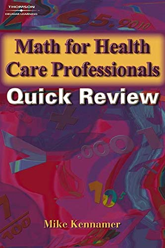 9781401880057: Math for Health Care Professionals Quick Review (Math and Writing for Health Science)