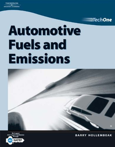 TechOne: Fuels and Emissions (1401880088) by Barry Hollembeak