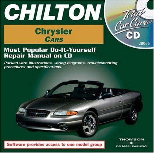 9781401880668: Total Car Care CD-ROM: Chrysler Cars, 1981-1999 Jewel Case