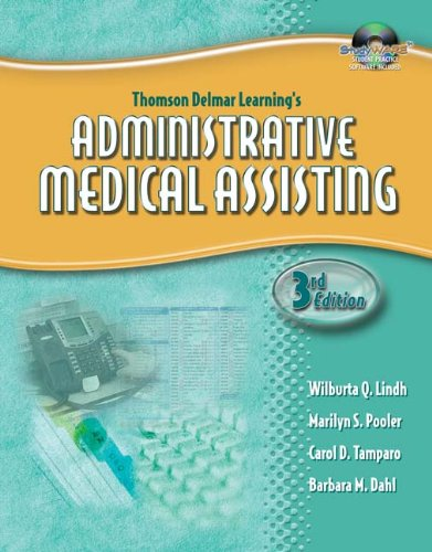 9781401881368: Workbook for Lindh/Pooler/Tamparo/Dahl's Delmar's Administrative Medical Assisting, 3rd