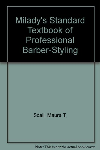 9781401888572: Milady's Standard Textbook of Professional Barber-Styling