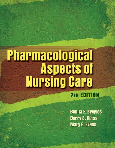 9781401888862: Pharmacological Aspects of Nursing Care