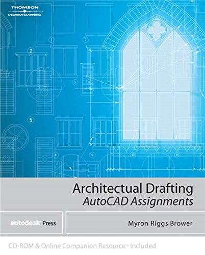 9781401890315: Architectural Drafting Assignments Using AutoCAD