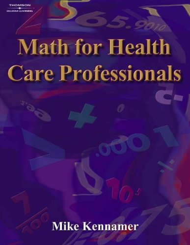 9781401891138: Math for Health Care Professionals