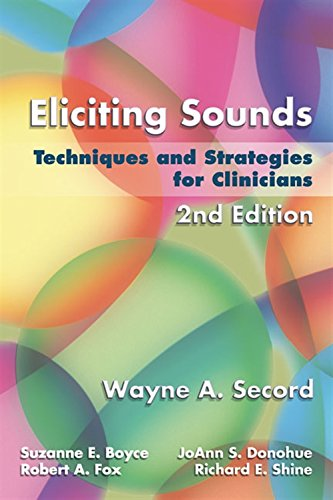 9781401897253: Eliciting Sounds: Techniques and Strategies for Clinicians