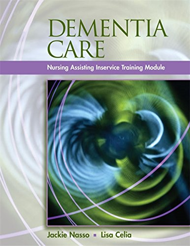 9781401898588: Dementia Care: InService Training Modules for Long-Term Care