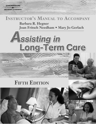 9781401899585: Iml-Assistng Long-Term Care 5e