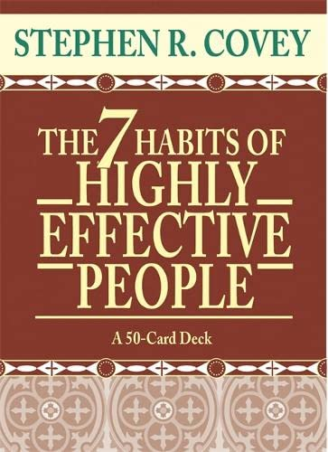 9781401901165: The 7 Habits of Highly Effective People Cards (Large Card Decks)