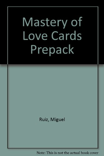 Mastery of Love Cards Prepack (1401901972) by Ruiz, Miguel