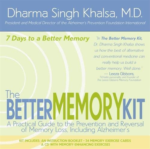 The Better Memory Kit: A Practical Guide To The Prevention And Reversal Of  Memory Loss Including ...
