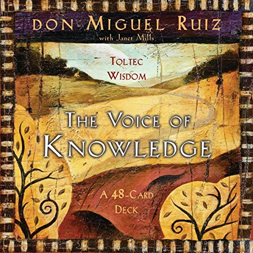 The Voice of Knowledge Cards (1401905307) by Ruiz, Miguel
