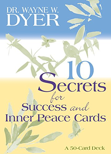 9781401906436: 10 Secrets for Success and Inner Peace Cards