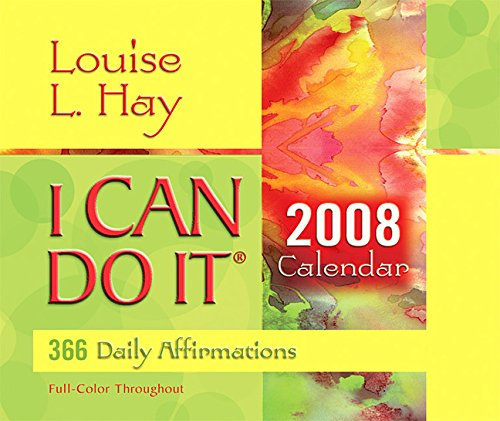 9781401907495: I Can Do It 2008 Calendar**: 365 Daily Affirmations (365 Day Calendar)