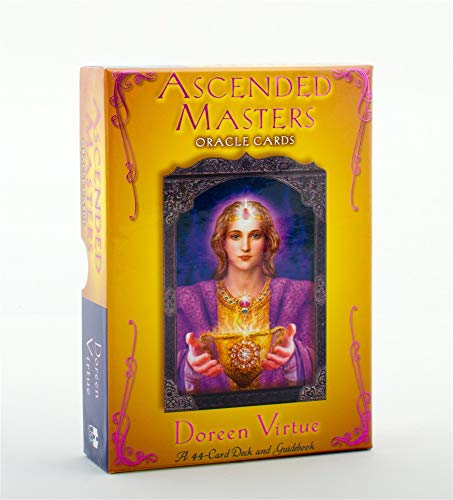 9781401908089: Ascended Masters Oracle Cards: 44-Card Deck and guidebook