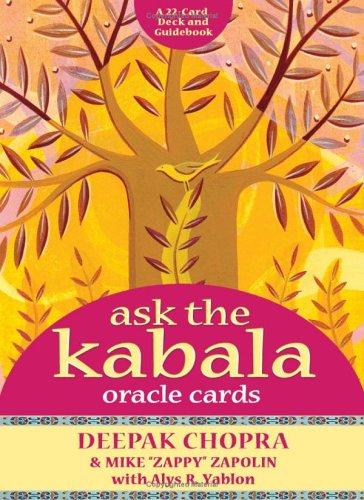 Ask the Kabala Oracle Cards: Chopra, Deepak; Zapolin, Michael; Yablon, Alys