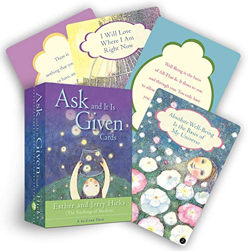 9781401910518: Ask And It Is Given Cards: A 60-Card Deck plus Dear Friends card