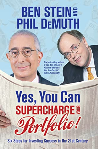 Yes, You Can Supercharge Your Portfolio! (140191764X) by Stein, Ben; DeMuth, Phil