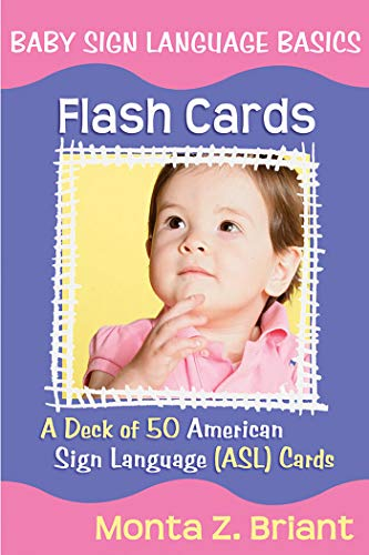 9781401917708: Baby Sign Language Flash Cards: A Deck of 50 American Sign Lanuage (ASL) Cards