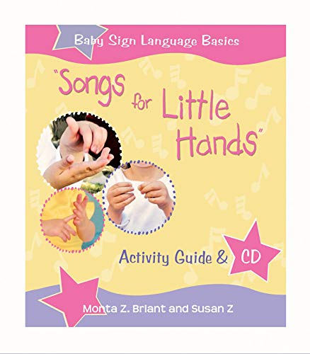 """9781401917975: """"Songs For Little Hands"""": Activity Guide & CD (Baby Sign Language Basics)"""