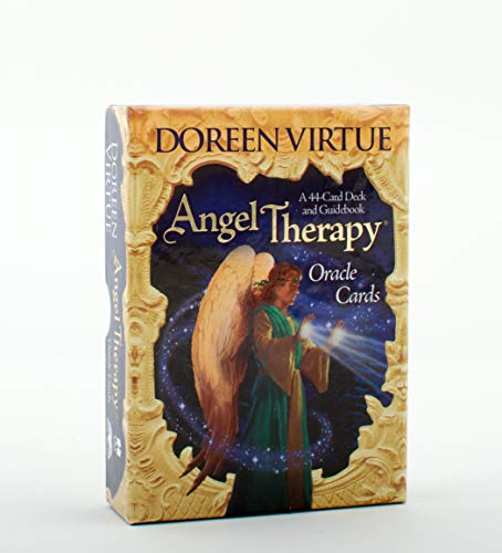9781401918330: Angel Therapy Oracle Cards: A 44-Card Deck and Guidebook