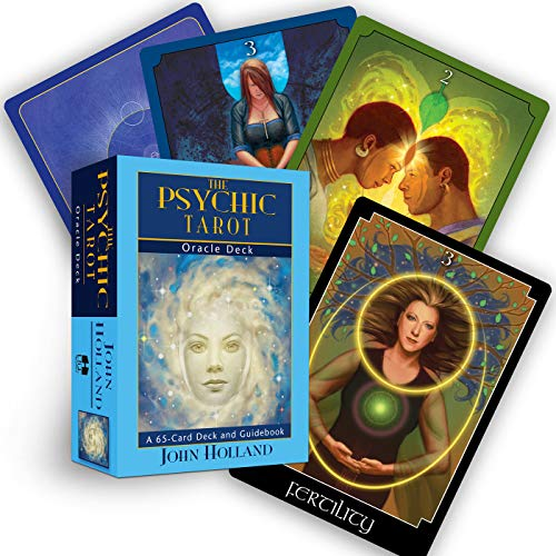 9781401918668: The Psychic Tarot Oracle Cards: a 65-Card Deck, plus booklet!
