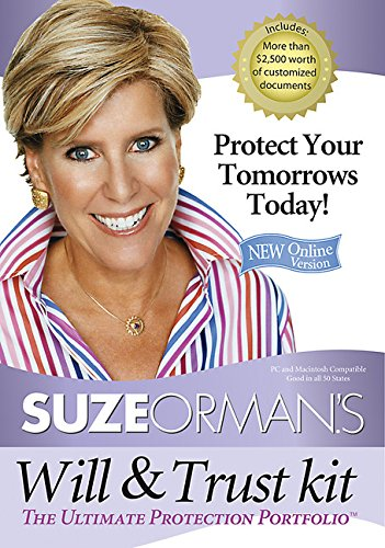 Suze Orman's Will & Trust Kit: The Ultimate Protection Portfolio (1401918999) by Suze Orman