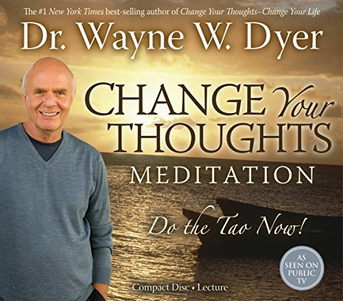 Change Your Thoughts Meditations  Cd