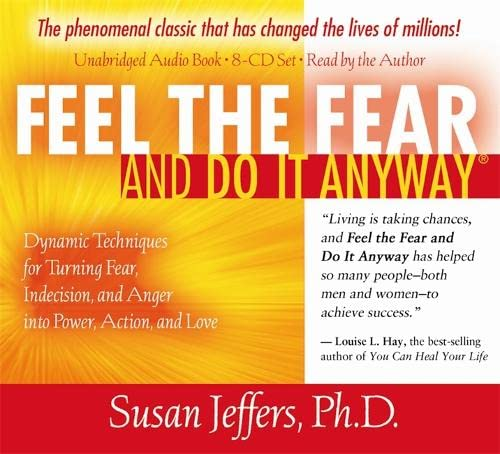 9781401919702: Feel the Fear and Do It Anyway 8-CD set: Dynamic Techniques for Turning Fear, Indecision, and Anger into Power, Action, and Love
