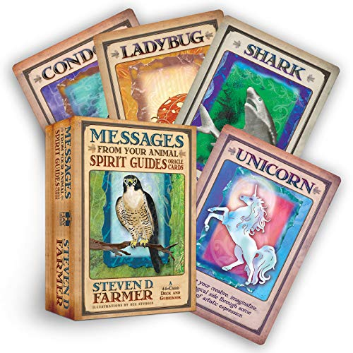 9781401919863: Messages from Your Animal Spirit Guides Oracle Cards: A 44-Card Deck and Guidebook!