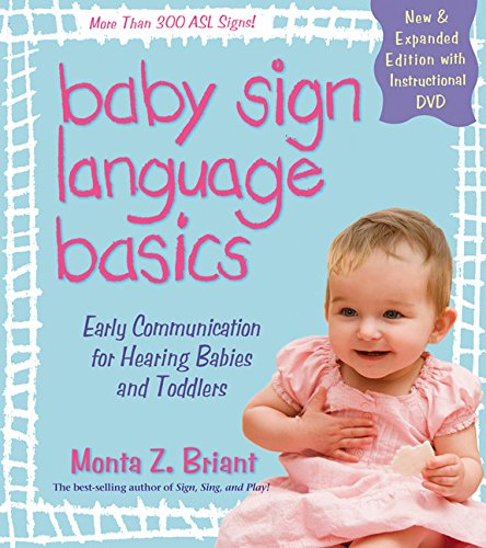 9781401921590: Baby Sign Language Basics: Early Communication for Hearing Babies and Toddlers, New & Expanded Edition PLUS DVD!