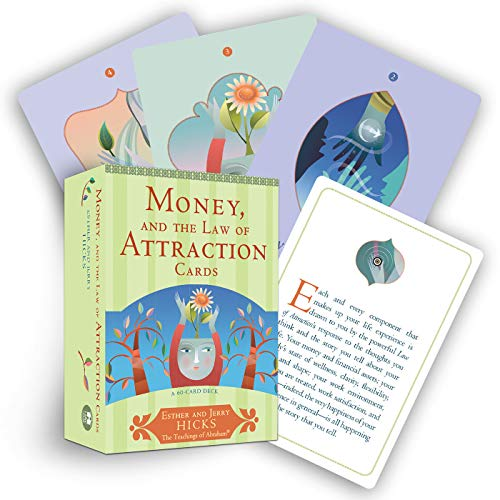 9781401923396: Money, and the Law of Attraction Cards: A 60-Card Deck, plus Dear Friends card