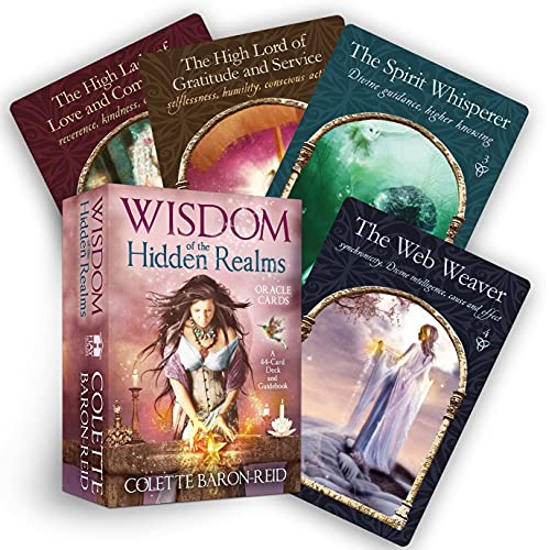 9781401923426: Wisdom of the Hidden Realms Oracle Cards: A 44-Card Deck and Guidebook