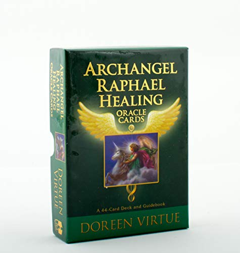 9781401924744: Archangel Raphael Healing Oracle Cards