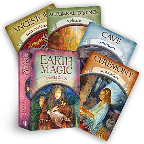 9781401925352: Earth Magic Oracle Cards: A 48-Card Deck and Guidebook