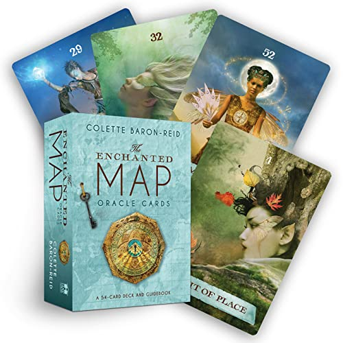 The Enchanted Map Oracle Cards: Colette Baron-Reid